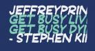 JeffreyPrint JL Italic