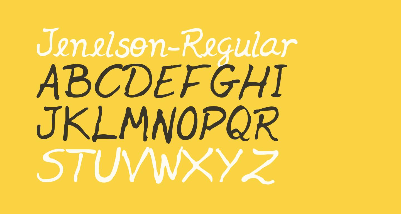 Jenelson-Regular