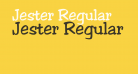 Jester Regular
