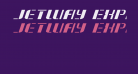 Jetway Expanded Italic