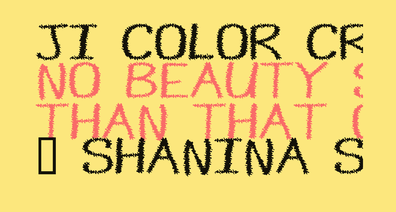 JI Color Crayons