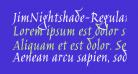JimNightshade-Regular