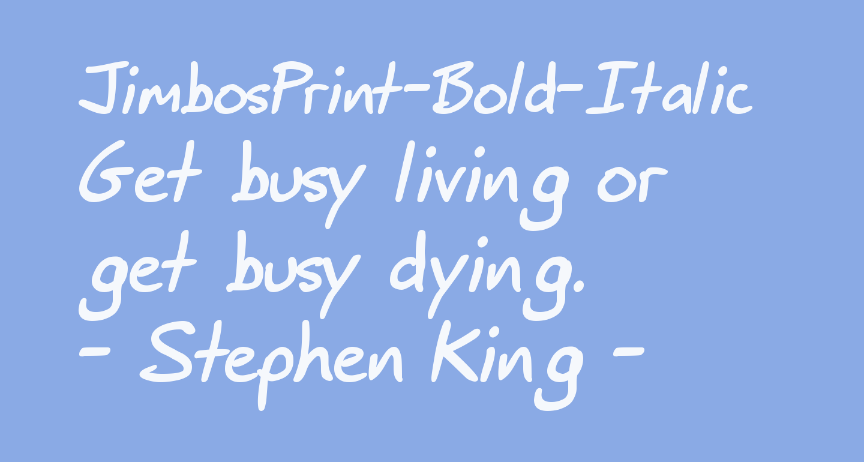 JimbosPrint-Bold-Italic