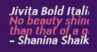 Jivita Bold Italic