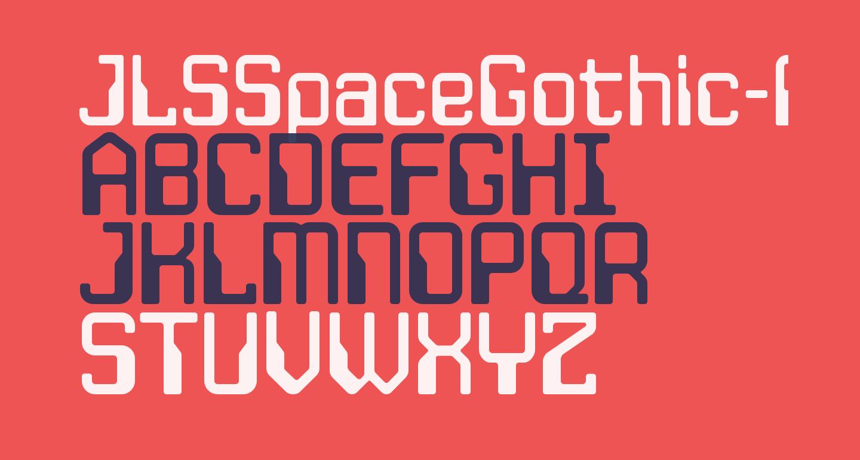JLSSpaceGothic-RNC