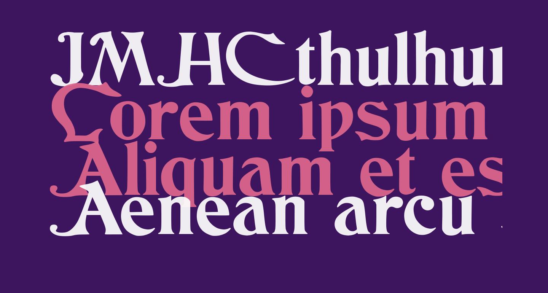 JMHCthulhumbusUGalt1-Regular
