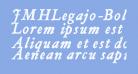 JMHLegajo-BoldItalic