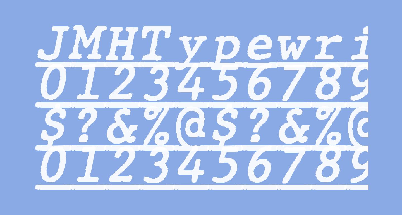 JMHTypewritermonoUnder-Italic