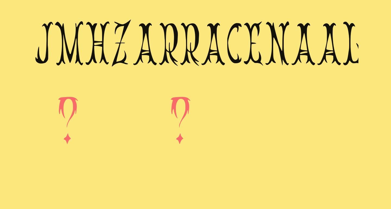 JMHZarracenaAlt-Regular