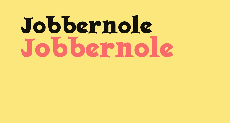 Jobbernole