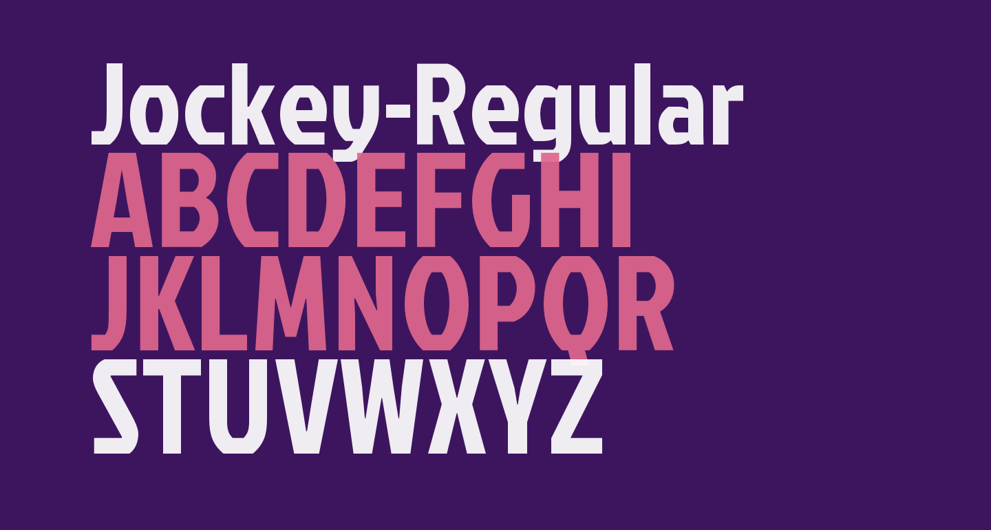 Jockey-Regular