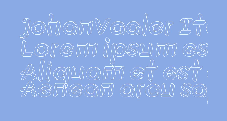 JohanVaaler Italic