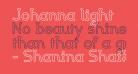 Johanna light