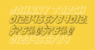 Johnny Torch 3D Italic