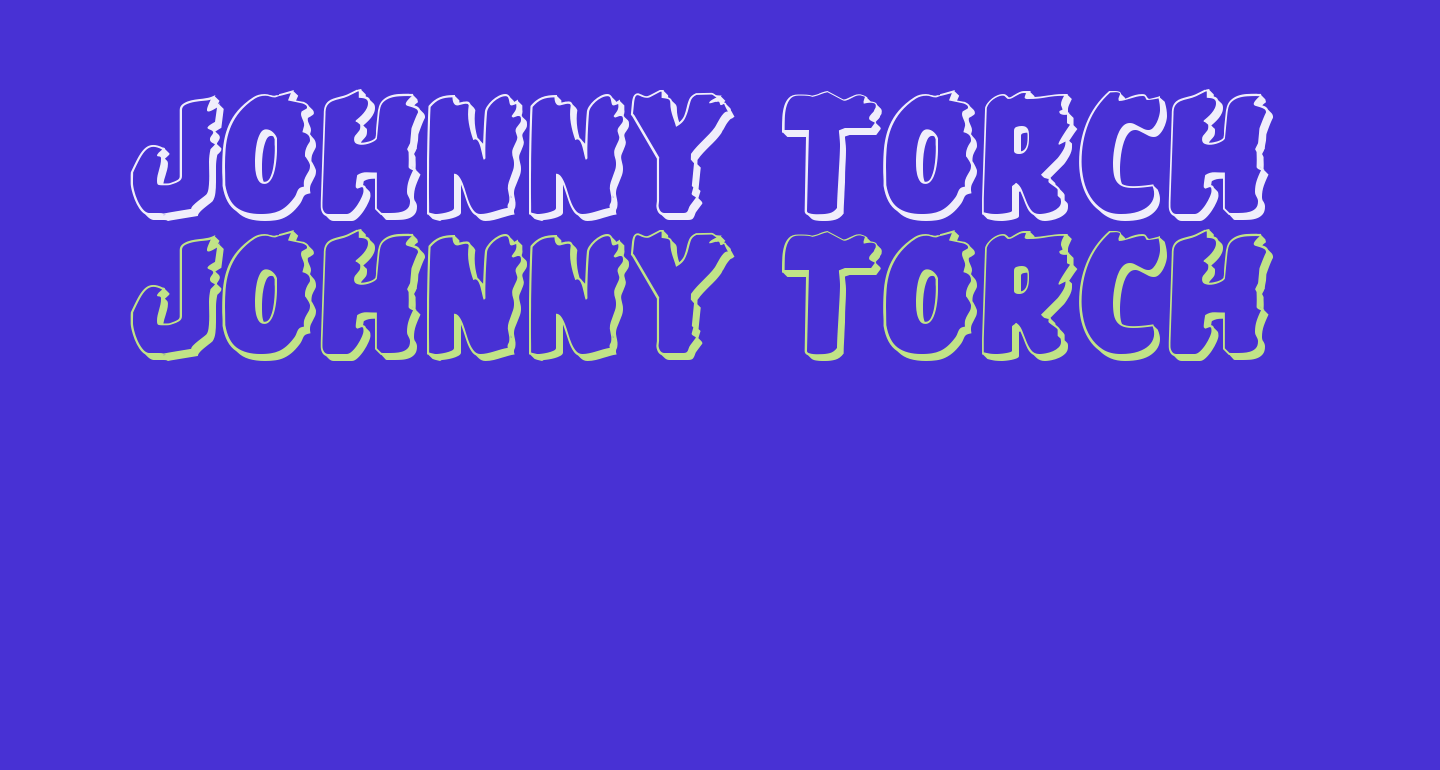 Johnny Torch 3D Regular