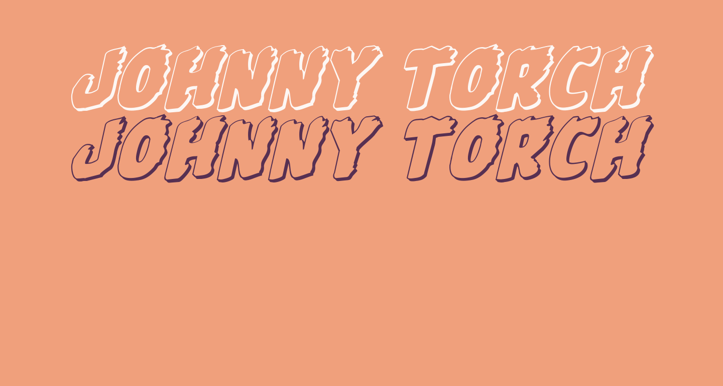 Johnny Torch 3D Rotalic
