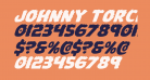 Johnny Torch Expanded Italic