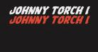 Johnny Torch Italic