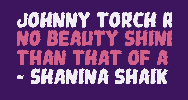 Johnny Torch Regular