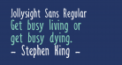 Jollysight Sans Regular