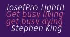 JosefPro-LightItalicreduced