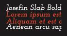Josefin Slab Bold Italic