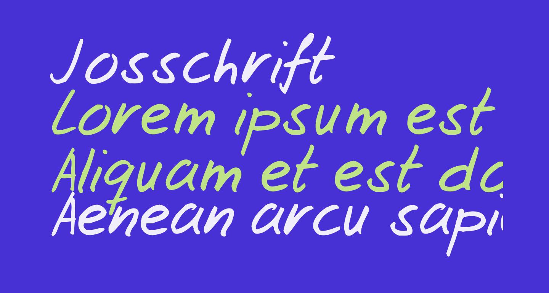 Josschrift