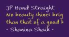 JP Hand Straight