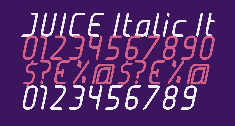 JUICE Italic Italic