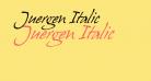 Juergen Italic