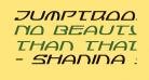 Jumptroops Italic