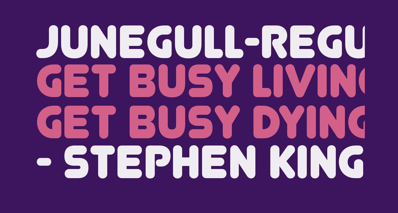 Junegull-Regular