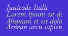 Junicode Italic