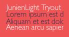 JunienLight Tryout