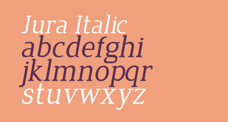 Jura Italic
