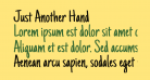 Just Another Hand