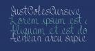 JustColesCursive