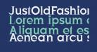 JustOldFashion