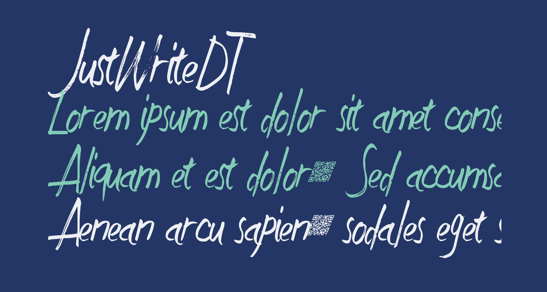 JustWriteDT