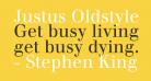 Justus Oldstyle
