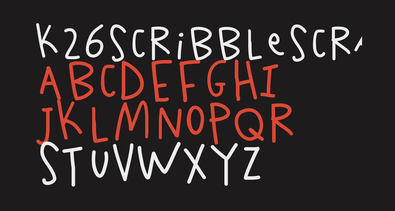 K26ScribbleScrawl
