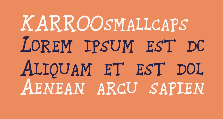 KARROOsmallcaps