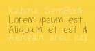 Kabina SemiBold