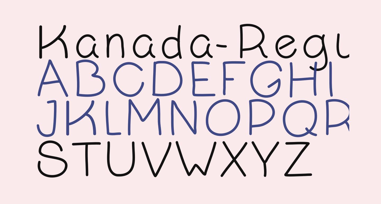 Kanada-Regular