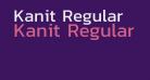 Kanit Regular