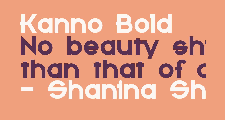Kanno Bold