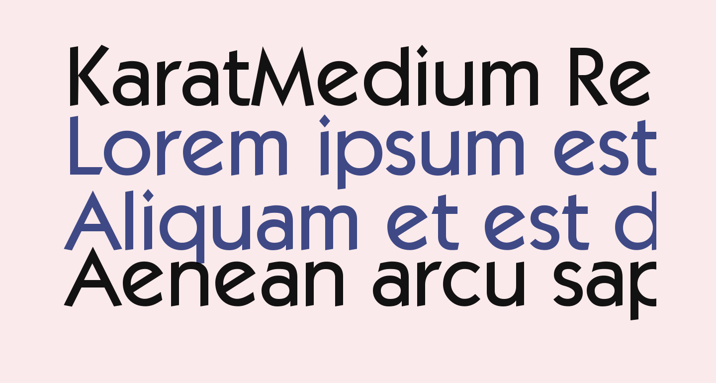 KaratMedium Regular