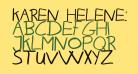 Karen Helenes haandskrift