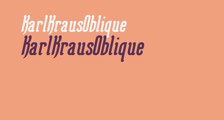 KarlKrausOblique