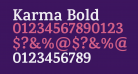 Karma Bold